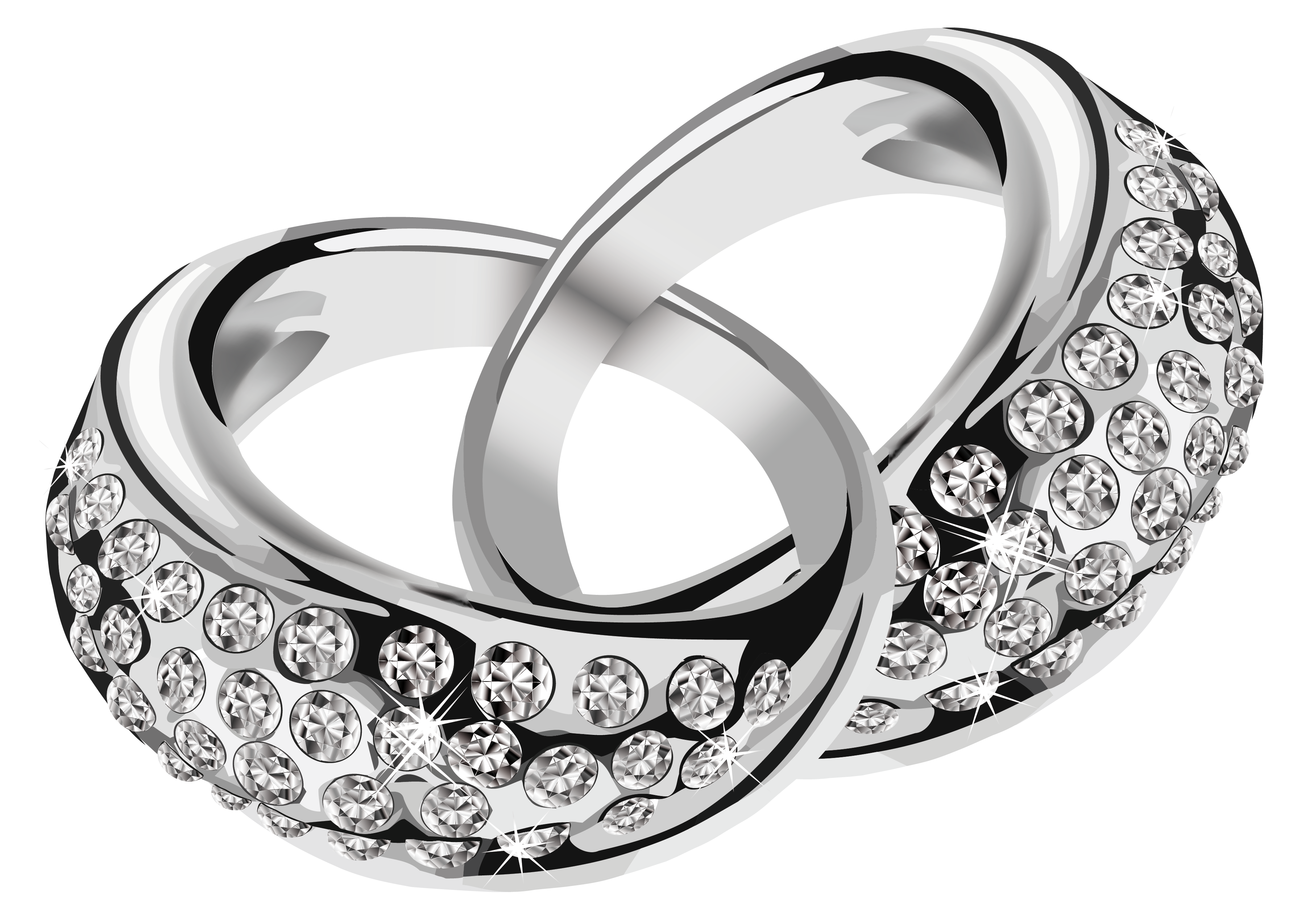 Awesome Wedding Ring Clipart