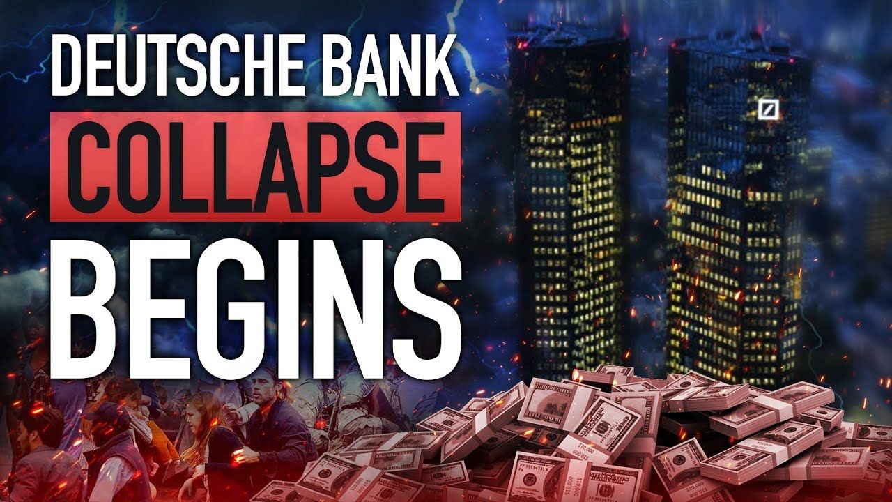 Deutsche bank collapse 250 trillion debt be ready for