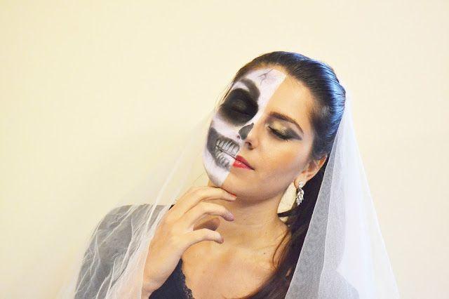 The fashion Diamonds: Make-up Halloween ispiration,