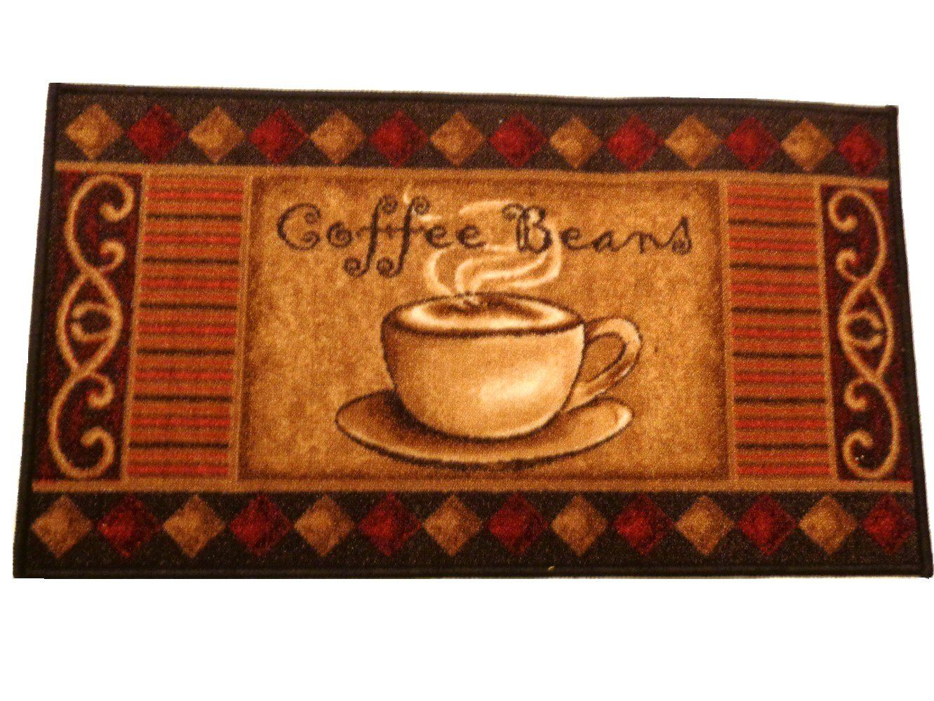 Coffee Themed Kitchen Rug #24.95 | Wake up & smell the ...