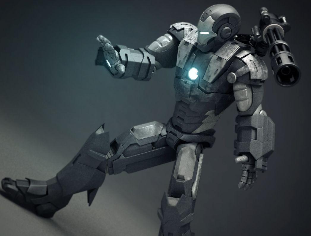War Machine - Hard Surface Modeling by Andrei Topli   3D   CGSociety