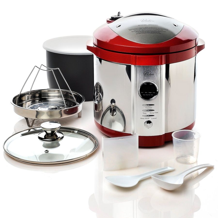 I really love my Wolfgang Puck 4 in 1 pressure cooker, it is a great time saver when I am off my game and haven't prepared in advance for meals :)