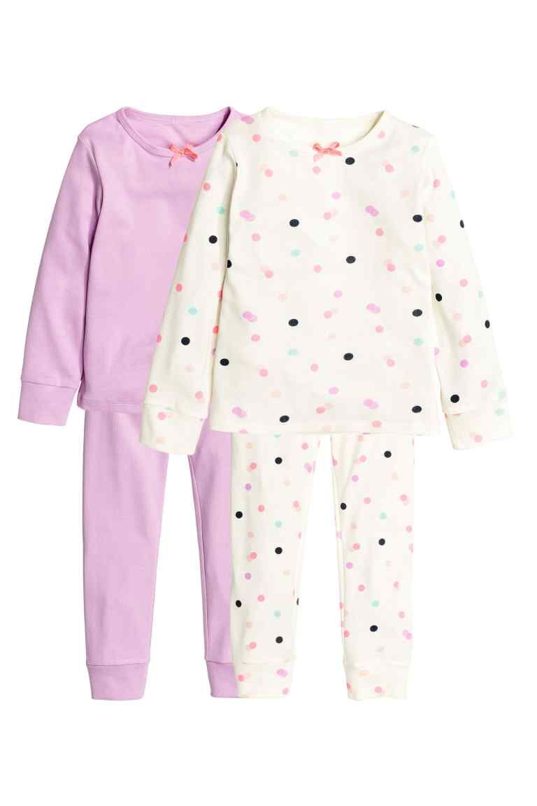 b0e82643c 2-pack jersey pyjamas