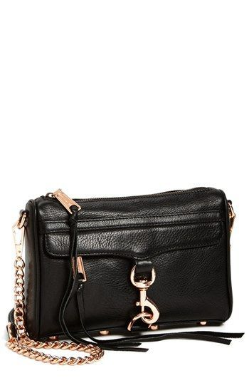 rebecca minkoff rose gold hardware bag - Google Search   Handbags ... 7c642d9b94