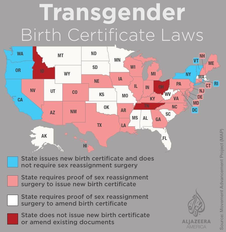 Transgender birth certificate laws lgbt pinterest birth transgender birth certificate laws aiddatafo Images