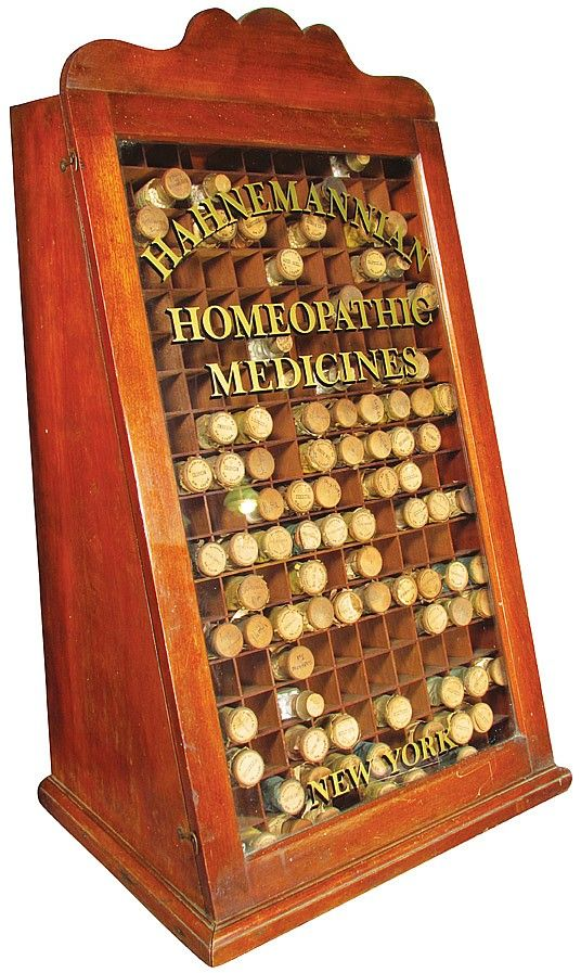 Hahnemannian Homeopathic Medicines Store Display Cabinet ...