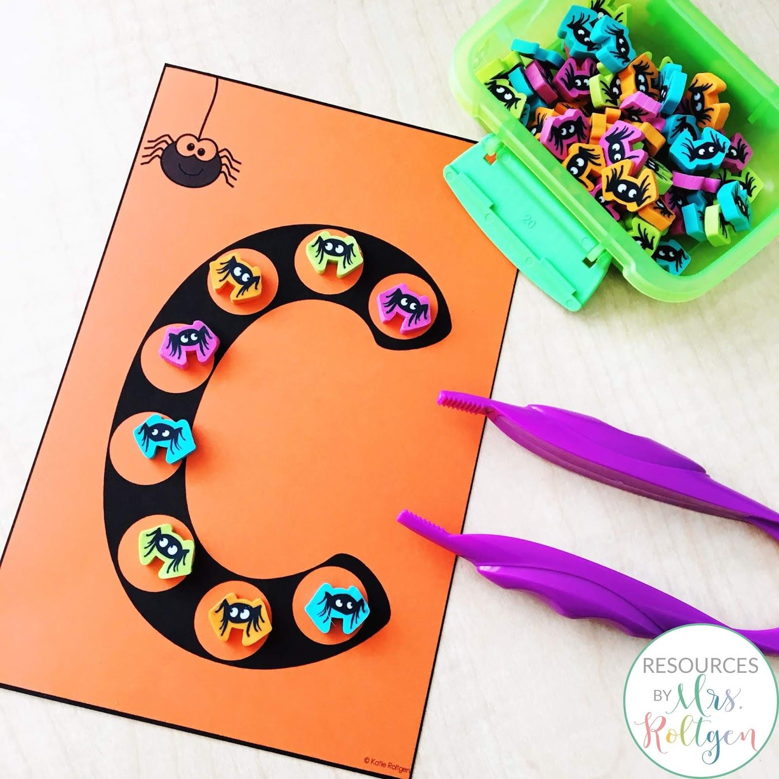 Check Out These Halloween Themed Fine Motor Activities