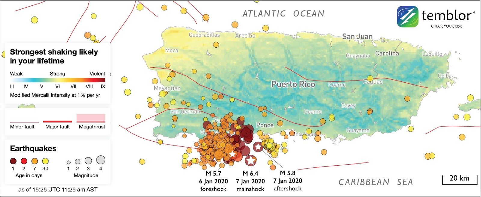 Pin By Dionisio Reyes On Isla In 2020 Puerto Puerto Rico Seismic