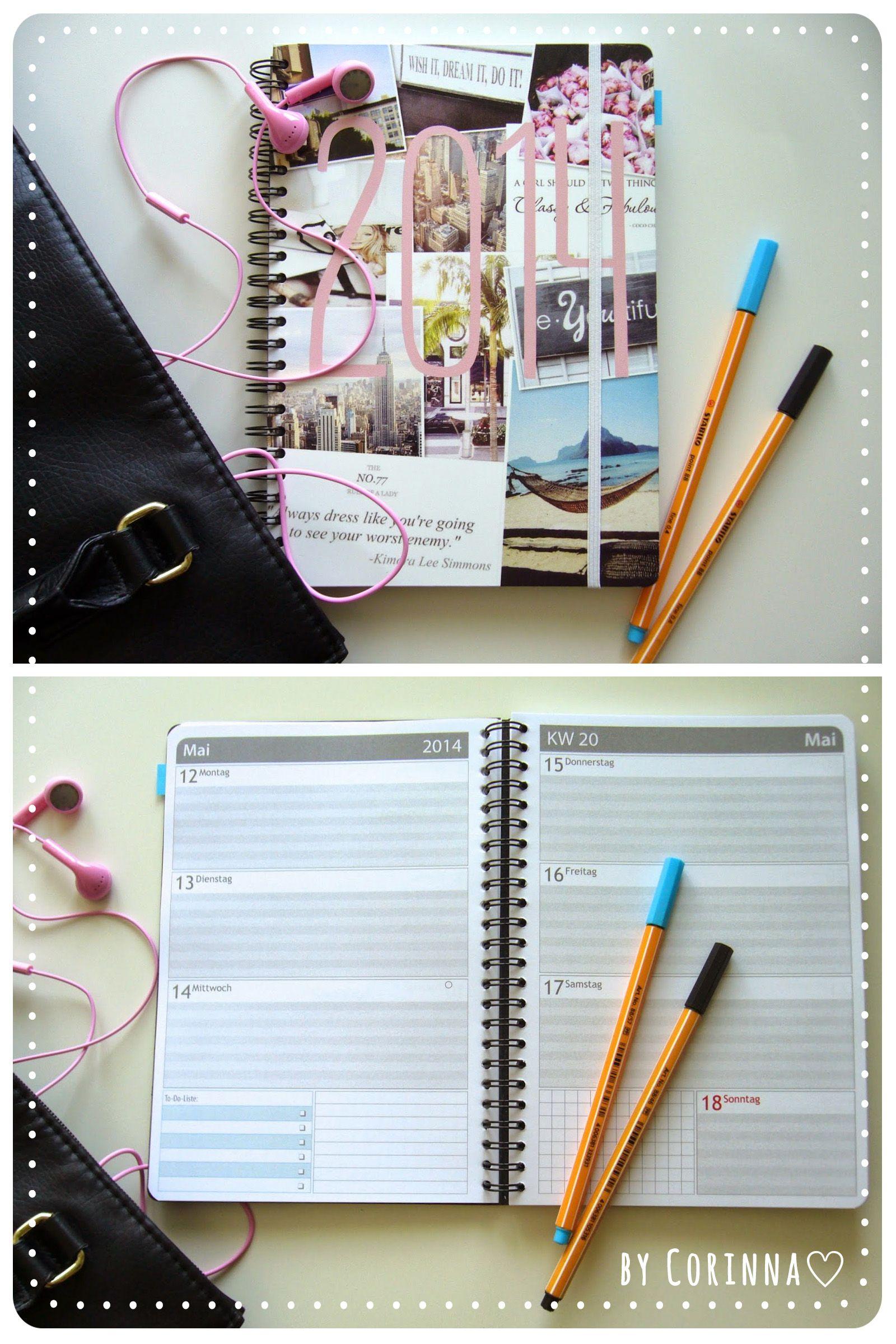 taschenkalender selbst gestalten corinna bloggt ihren kalender. Black Bedroom Furniture Sets. Home Design Ideas