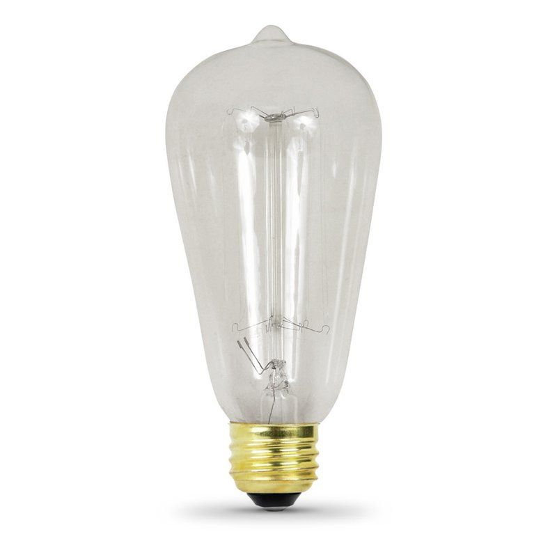 60 Watt Incandescent Dimmable Light Bulb Warm White 2200k E26 Base Light Bulb Vintage Light Bulbs Dimmable Light Bulbs
