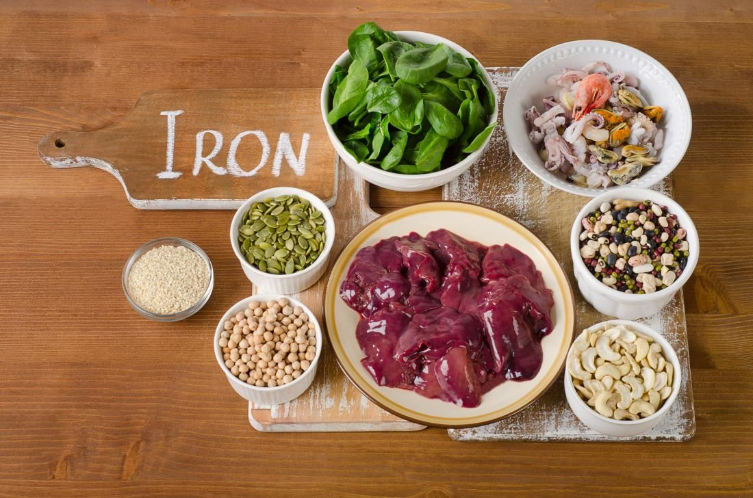Iron intake, benefits, and food sources