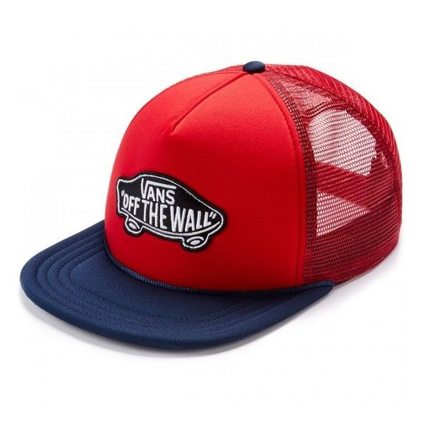 ed350159b1a Vans Classic Patch Trucker Hat ( 13) ❤ liked on Polyvore featuring  accessories