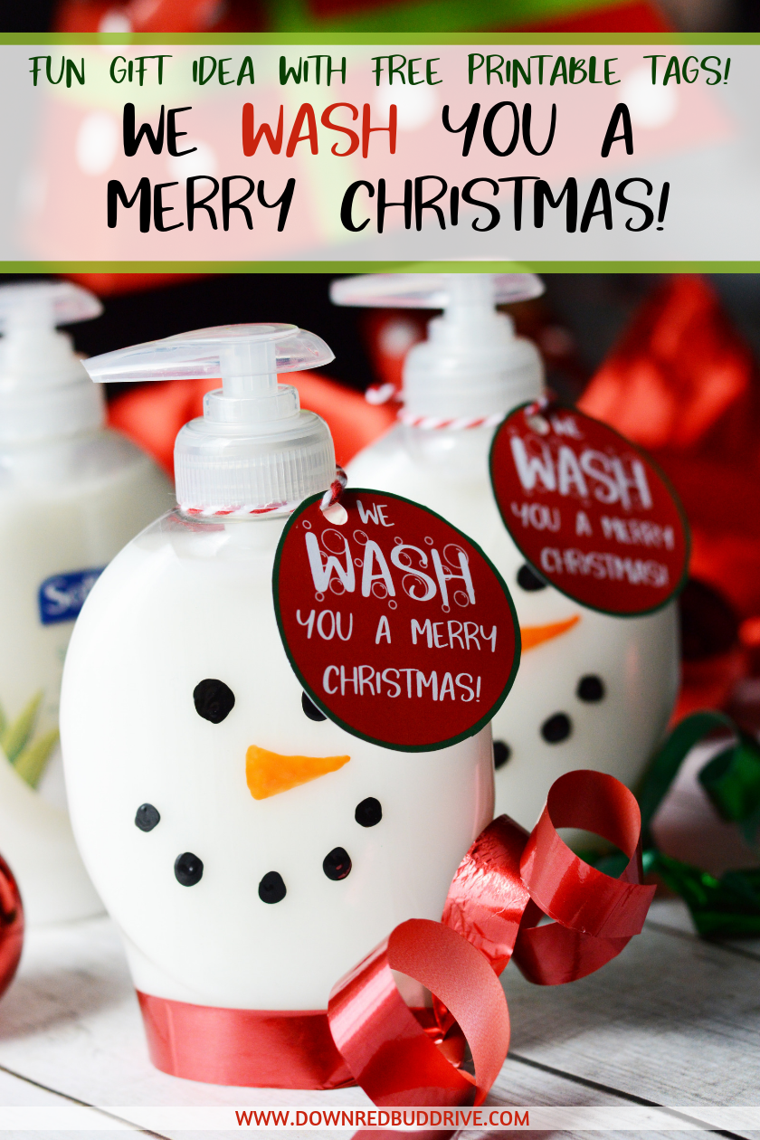 Snowman Soap Neighbor Christmas Gifts Soap Dispenser Diy