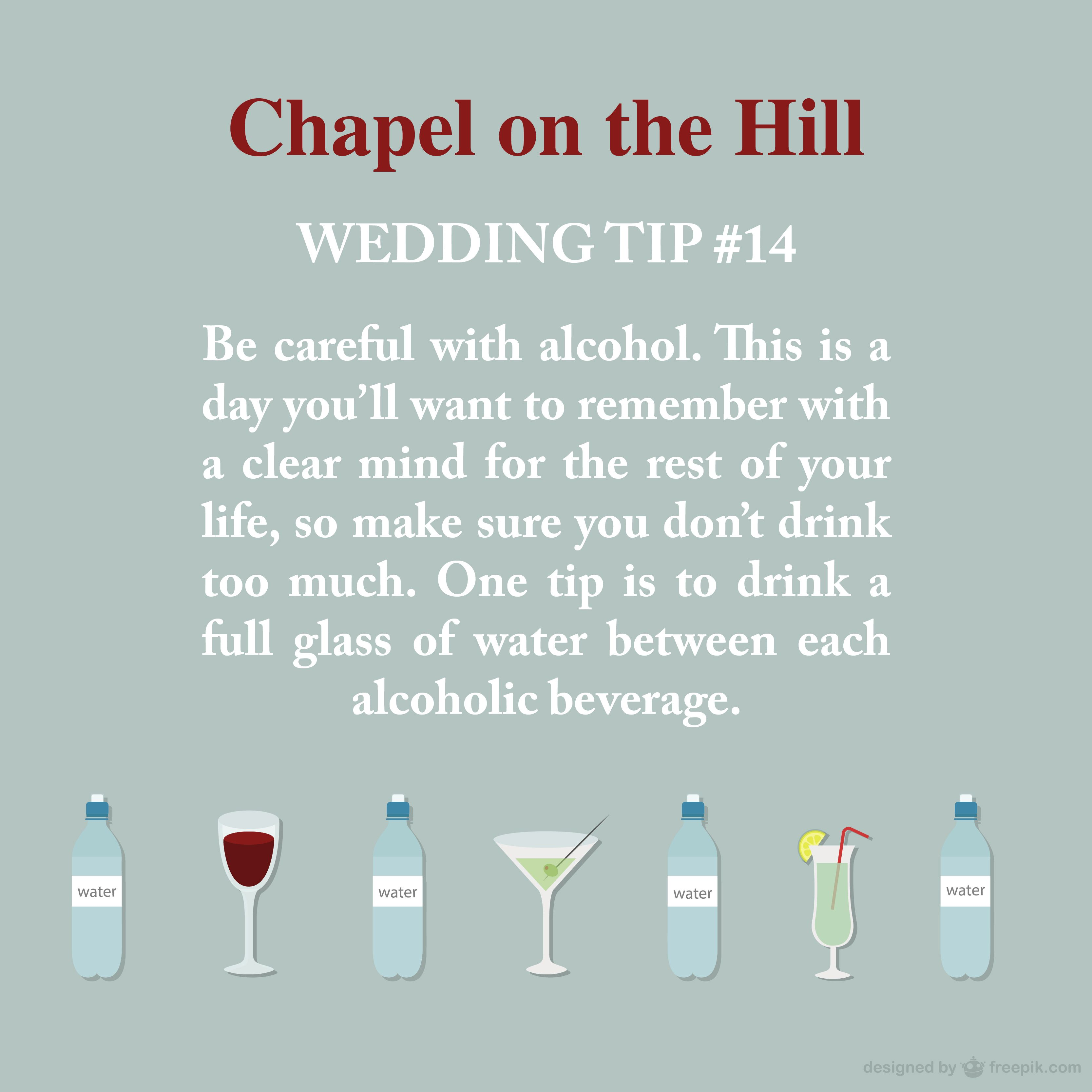 Chapel On The Hill Tulsa Wedding Tip #14