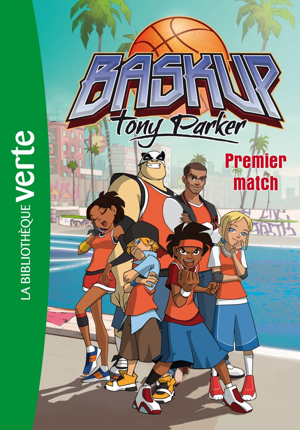 Baskup Tony Parker 01 Premier match (eBook) Cartoon