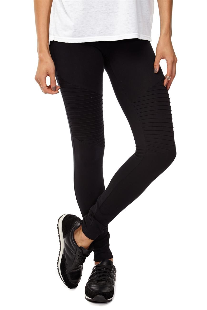Dakota Knee Detail Legging Cotton Leggings Legging Leggings Fashion