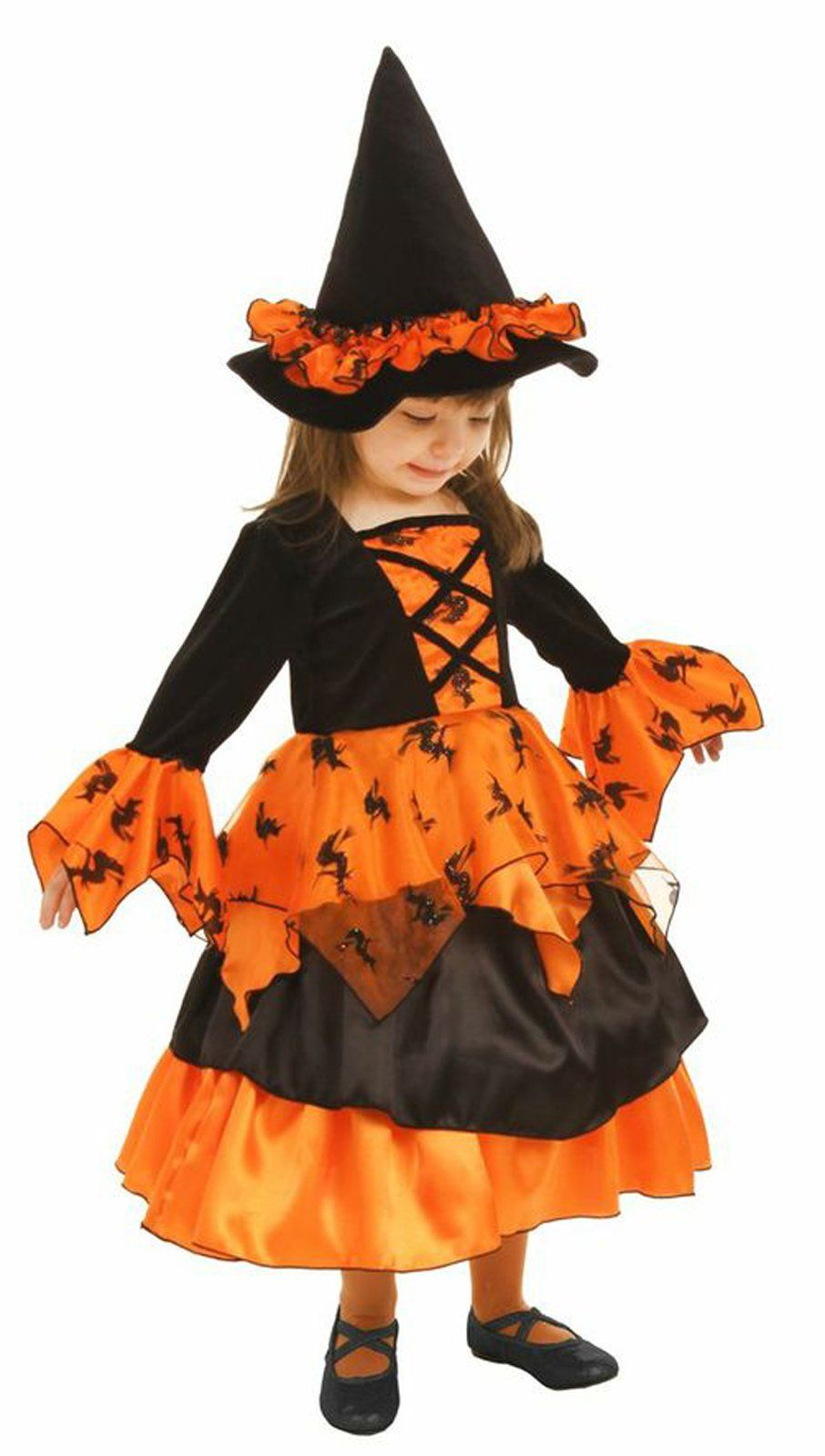 Little Candy Corn Toddler Witch Costume Toddler witch