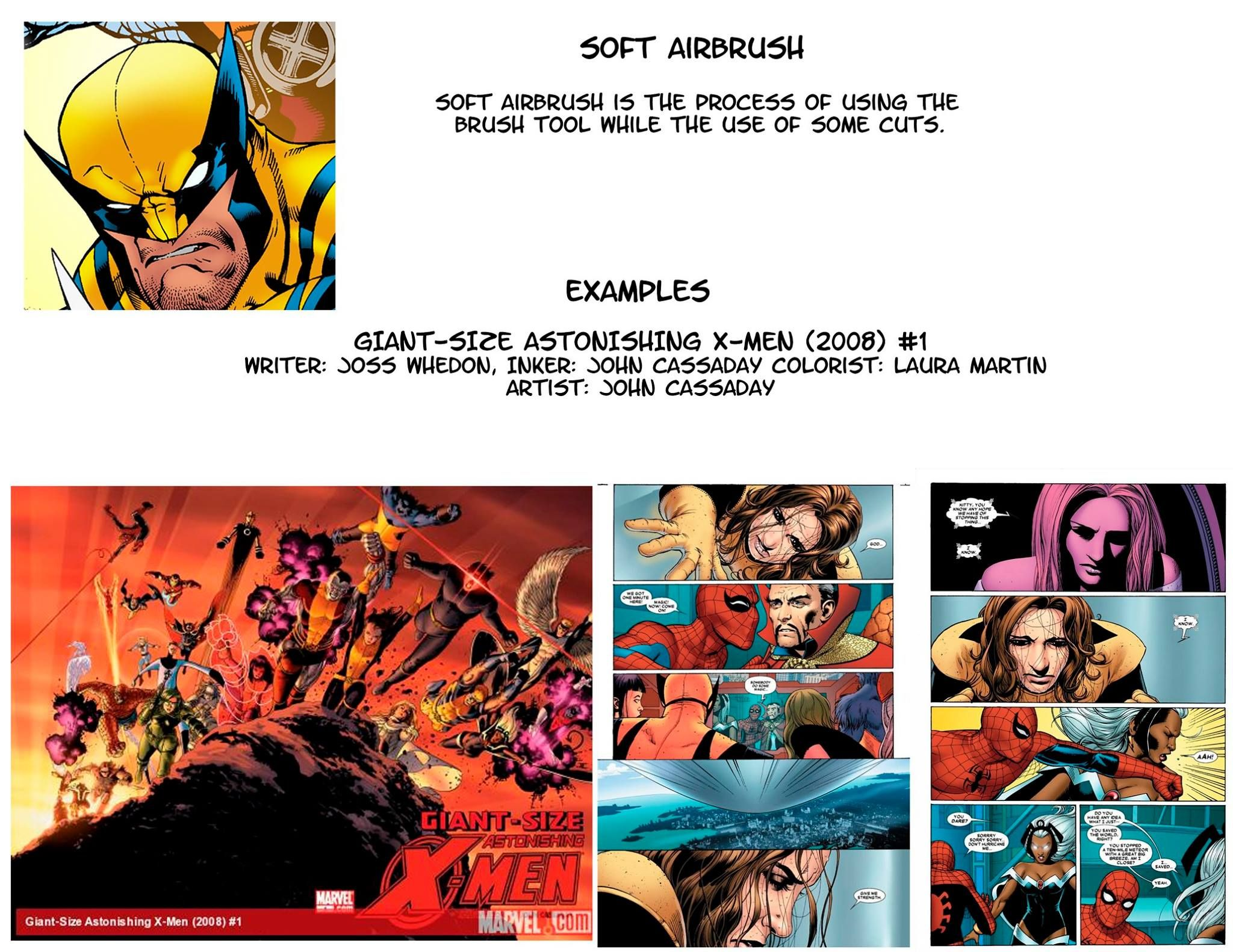 Comic Coloring Styles Softairbrush Jasen Smith Colourist Digital Painting My Pictures