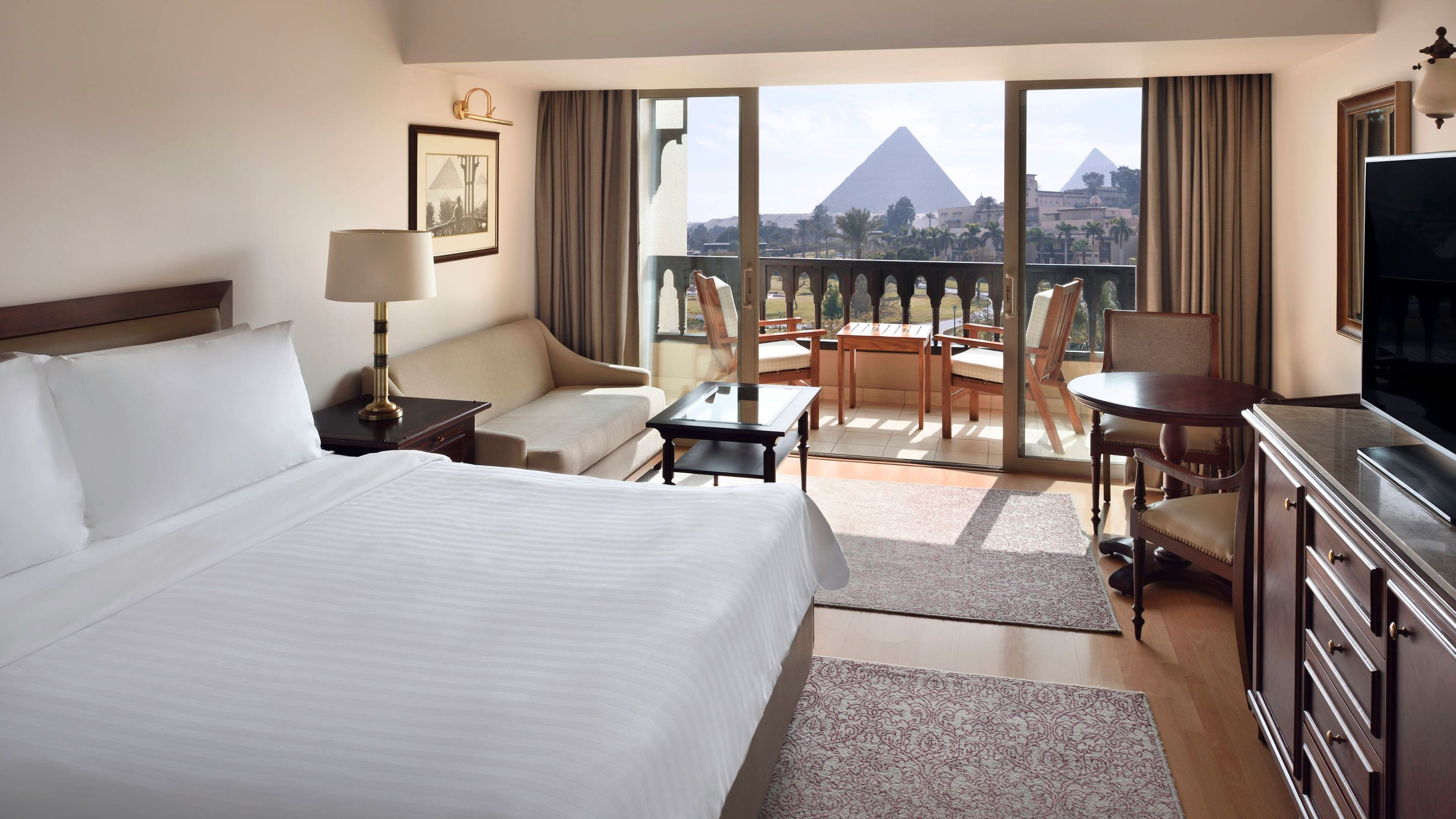 Nine Overwater Bungalows To Escape Your Winter Blues: View Marriott Mena House, Cairo: Hotel Photo Tour Images