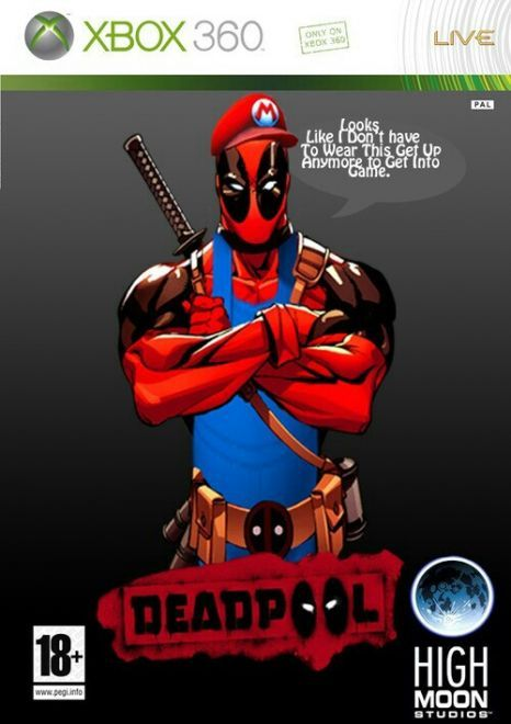 Ohhhh Dont Even Get Me Started With This Game One Of My All Time Favorites Deadpool Deadpool Art The New Mutants