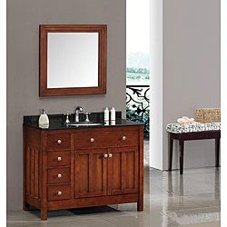 Amazing Shop For OVE Decors Adrian 42 Inch Single Sink Bathroom Vanity With Granite  Top.