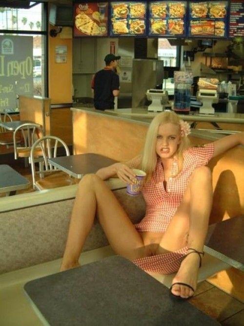 lesbians nude Public amateur