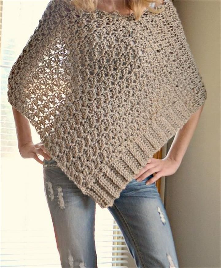 24 Lots Of Inspiration/ Crochet Poncho Design | Crochet poncho ...