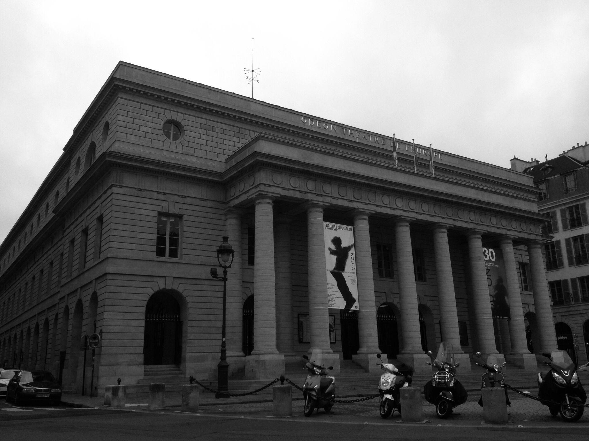 Théâtre de l'Odéon Paris - Foto: Arquiteta Cláudia F. Ferreira