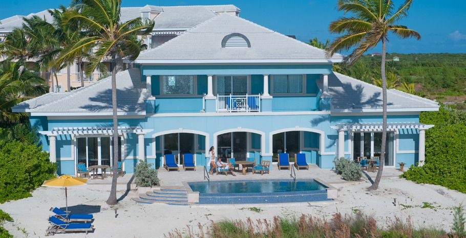 Royal Estate Two Story One Bedroom Beachfront Butler Villa Suite With Pool Emerald Bay Bahamas 73 Sandals Emerald Bay All Inclusive Honeymoon Resorts Resort
