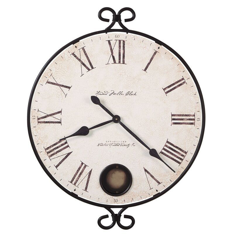 Oversized Moment In Time 26 25 Wall Clock Gallery Wall Clock Wall Clock Pendulum Wall Clock Howard miller oversized wall clock