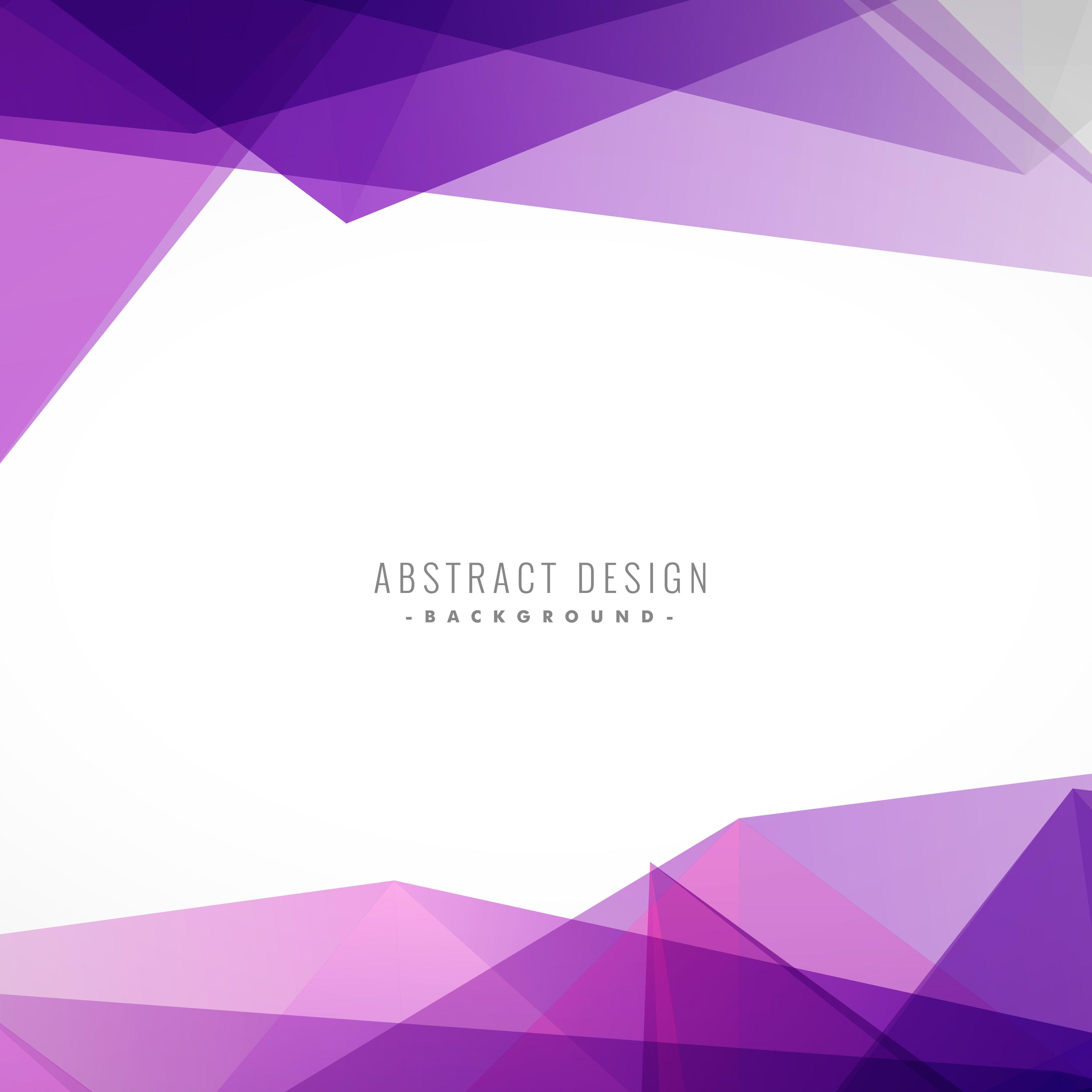 Background With Colorful Purple Shapes Desain Poster Desain Banner Brosur