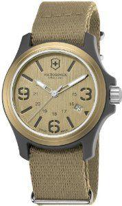 Victorinox Swiss Army Swiss Army Quartz Brown Dial Men's Watch - V241516 $201.92