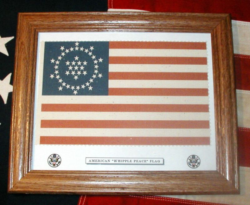 48 Star American Flag, Wayne Whipple Peace Flag of 1912