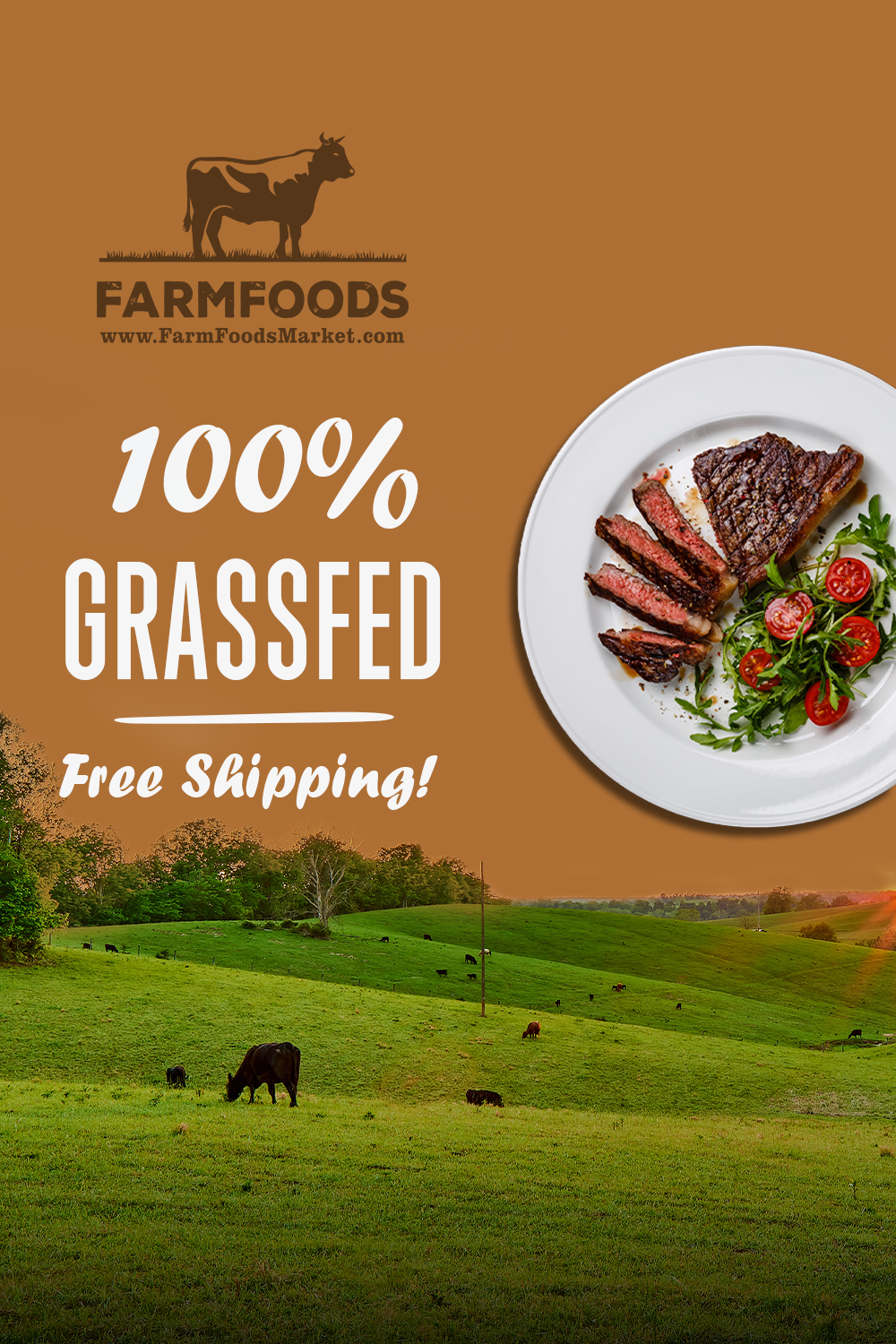 100 Grass Fed Beef Free Shipping No Hormones Or Antibiotics In 2020 Grass Fed Beef Grass Fish And Seafood