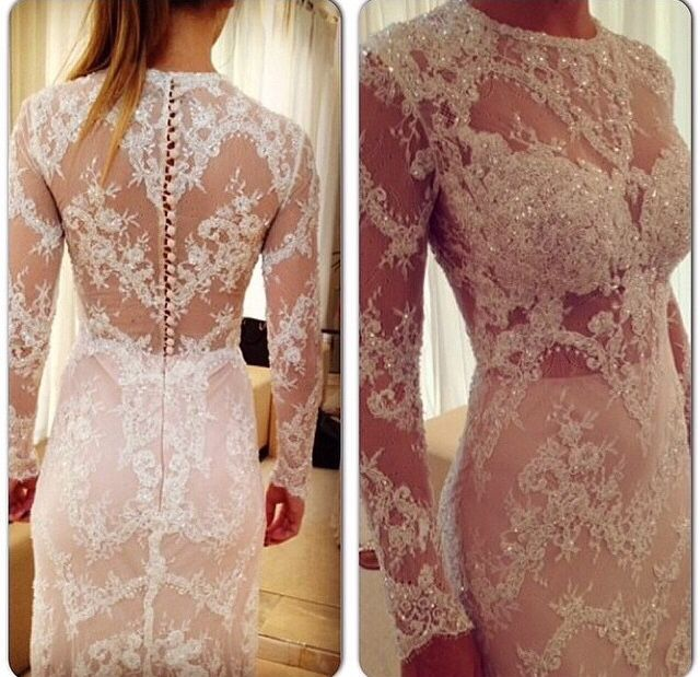 Wouldn't mind having this as a wedding dress!
