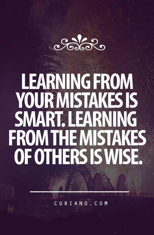 Learning From Your Mistakes In Smart Learning From The Mistakes Of