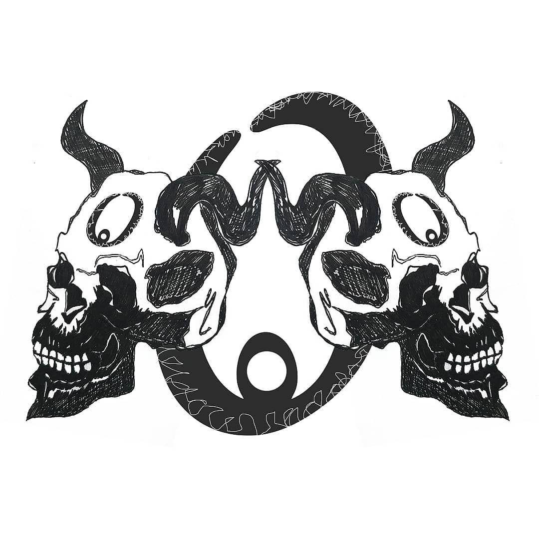 Title Gemini Zero Logo V1 Logo Skull Geminj Zero Digitalart Kwadron Tattoos Tattoo Ink Inked Tattooed Tattooartist Art Tattooart Tattool In 2020