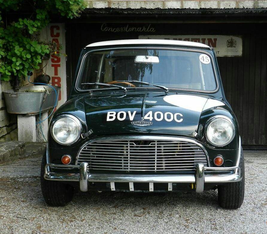 Classic British Mini's Around
