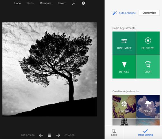 Discover Snapseed iPhone Photo Editing Tools On Your