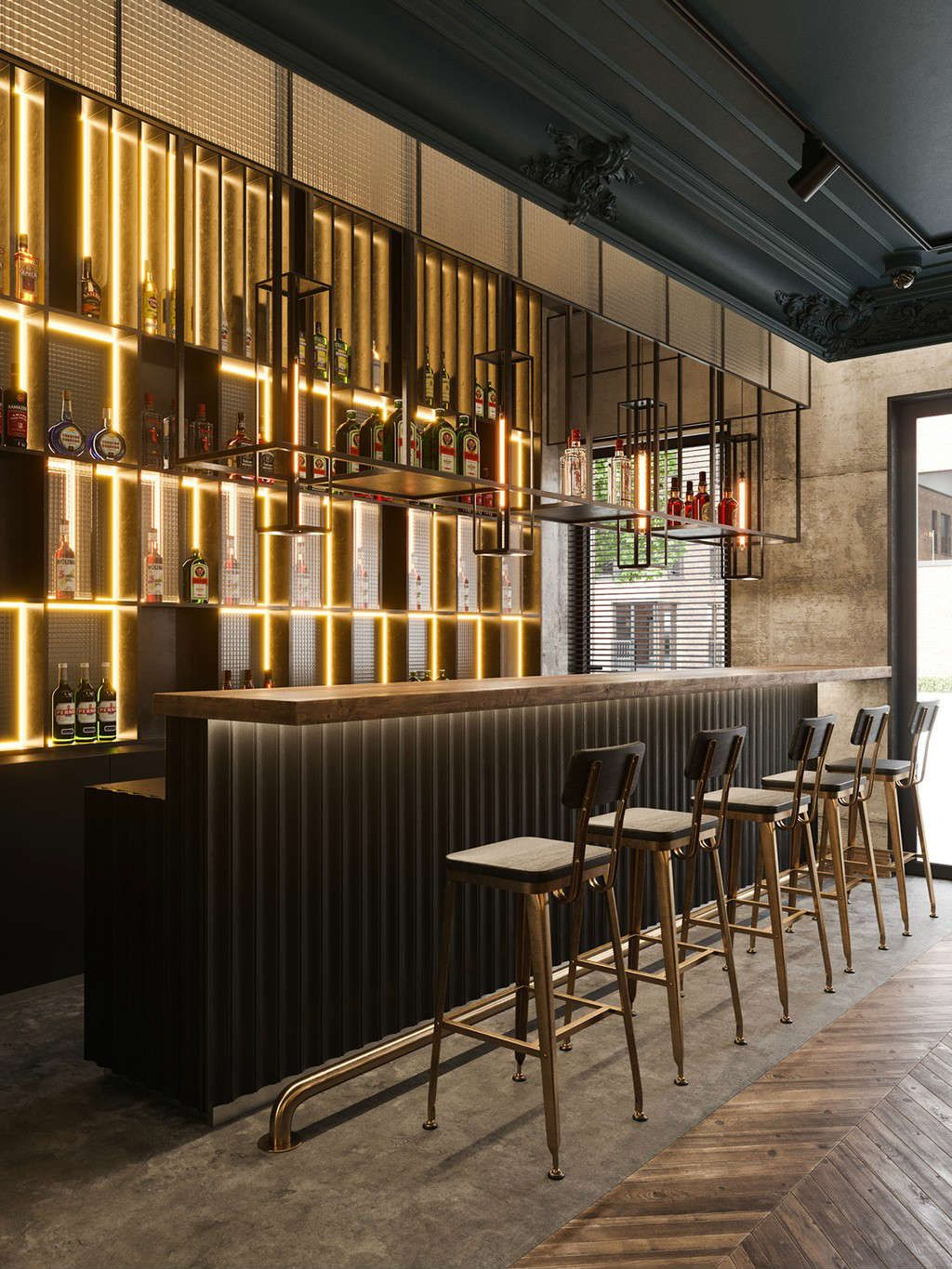 Finding Counter And Bar Stools Can Be A Tough Proposition You Need To Find The Right Silhouet Contemporary Bar Stools Bar Design Restaurant Bar Counter Design
