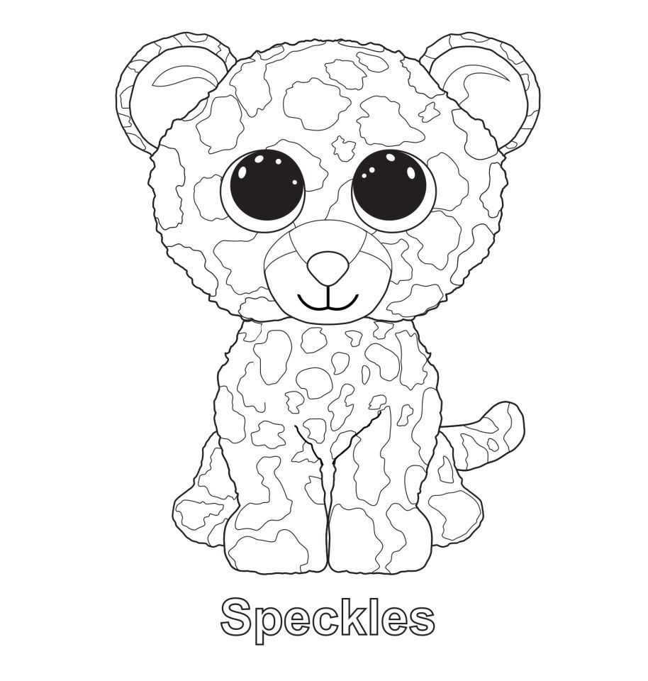 Speckles the Leopard TY Beanie Boo | Ty Beanie Boos | Pinterest ...