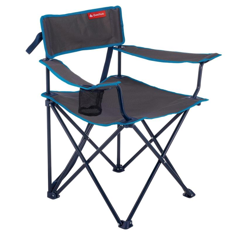 49 99 Zl Turystyka Krzeslo Kempingowe Skladane Quechua Camping Chairs Camping Table Camping Chair