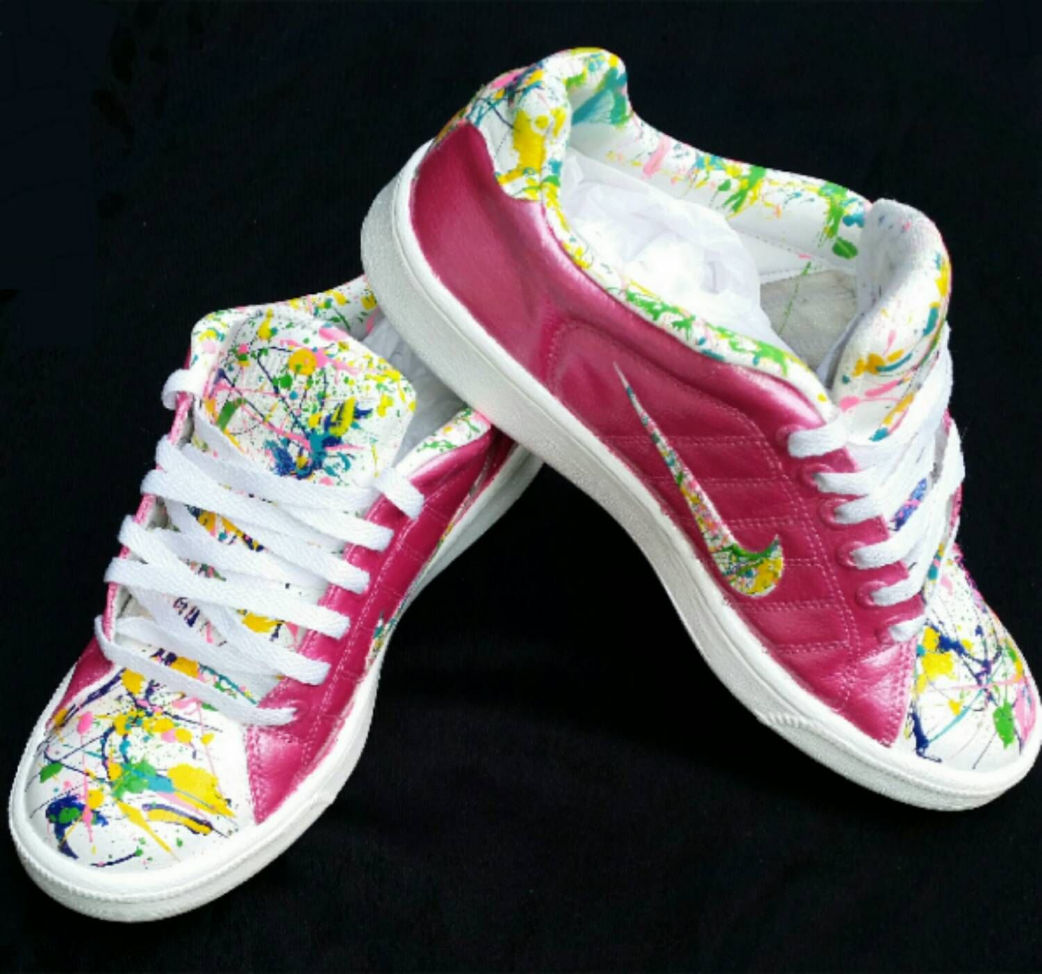 low priced 20d87 ba91b Custom Painted- Splatter Painted- Nike s- Air Force Ones- Tennis Shoes-  Unisex Shoes- Any Colors- Any Size- Babies- Toddlers- Kids- Adults by  DivineKidz on ...