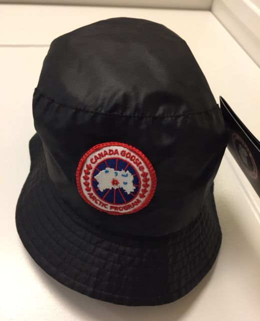 ☀NEW☀Canada Goose BLACK Bucket Hat Concepts Sz L NWT Arctic Program Patch  98a8cde893f