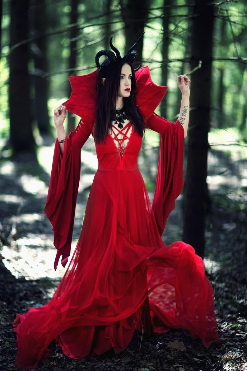 39++ Devil in a red dress information