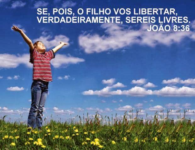 Se pois o Filho vos libertar verdadeiramente sereis livres