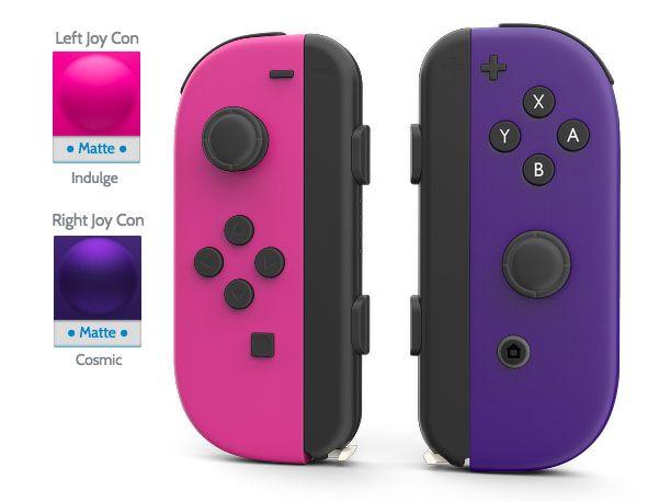 Custom Nintendo Switch Joycon From Colorware Nintendo Switch Accessories Nintendo Switch System Nintendo Switch Games