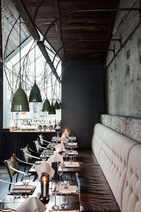 DILL (Iceland), Surface Interiors | Restaurant & Bar Design Awards ...