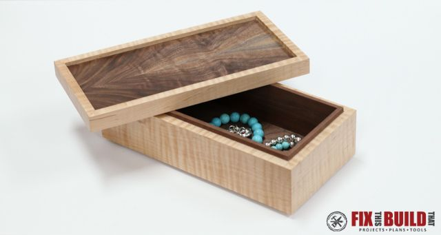 How To Make A Wooden Jewelry Box Adorable How To Make A Simple Wooden Jewelry Box  Woodworking Box And Wood Inspiration Design