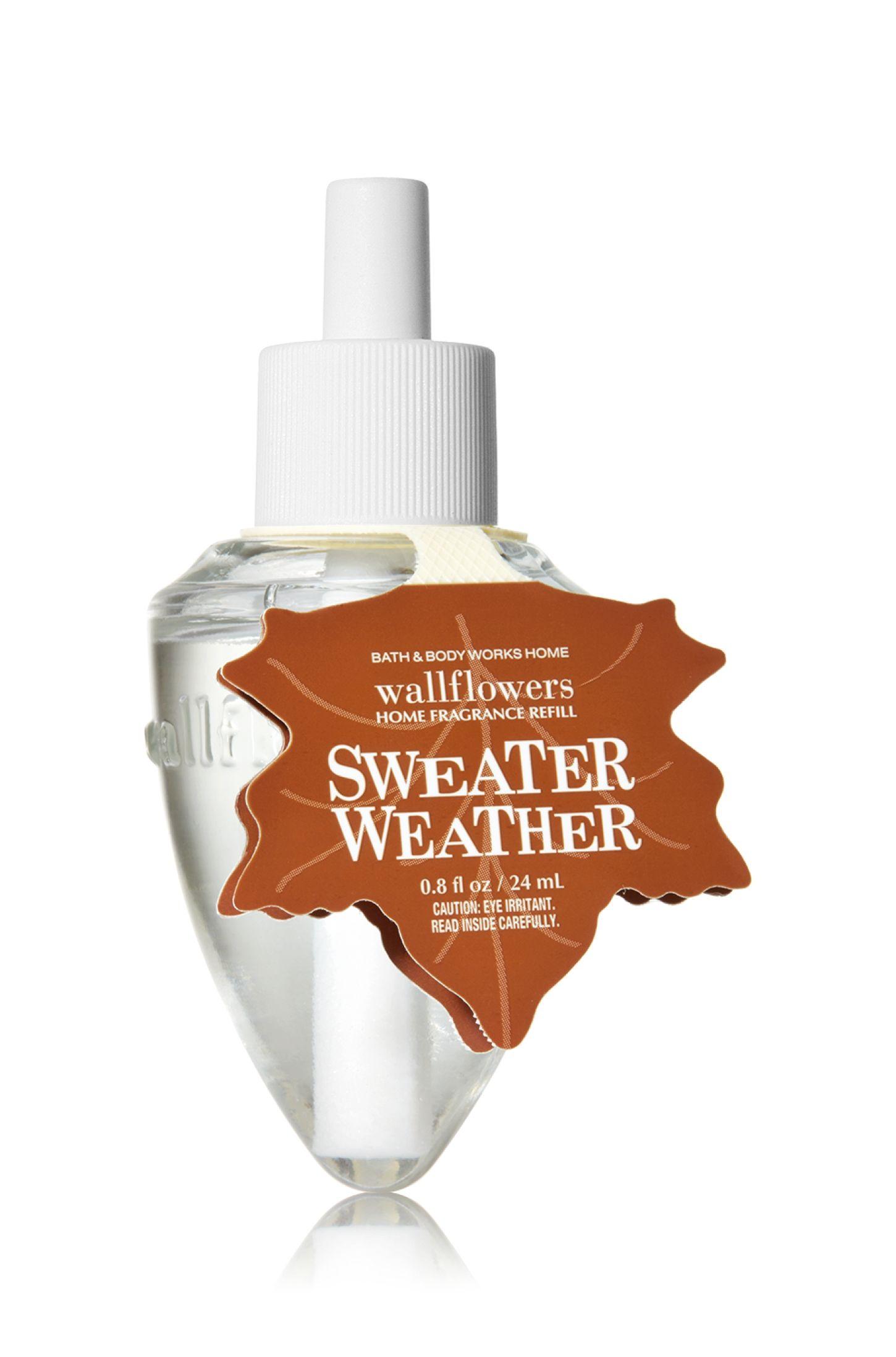 Sweater Weather Wallflowers Fragrance Refill Home Fragrance Bath